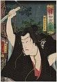 Utagawa Kunisada II - Actor Ichimura Uzaemon XIII as Shirai Gonpachi.jpg