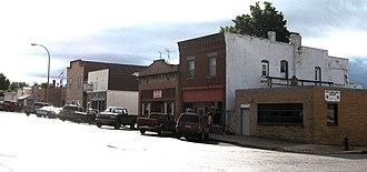 Ute, Iowa - Downtown Ute