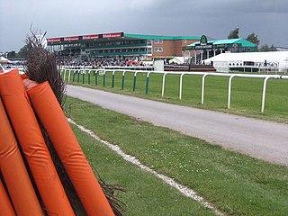 Uttoxeter Racecourse horse racing venue in England