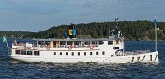 Waxholmsbolaget - Image: Västan June 2013 cropped