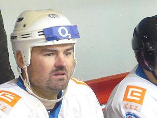 Valdemar Jiruš Czech ice hockey player