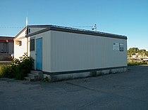 VIA Rail passenger shack in Sioux Lookout.JPG
