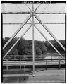 VIEW OF PIN AND RIVET JOINTS - McGirt's Bridge, Spanning Cape Fear River, Elizabethtown, Bladen County, NC HAER NC,9-ELITO.V,1-13.tif