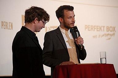 VIS - Vienna Independent Shorts 2014 opening Gartenbaukino Daniel Ebner Benjamin Gruber 3.jpg