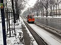 VIenna Ringstrasse Trams in Snow (8499668107).jpg