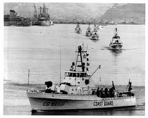 USCGC Point Marone (WPB-82331) - Image: VTN SQ1 Subic