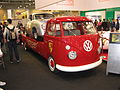 VW Transporter T2 Splittie lwb with Porsche 356 racer (7873972348).jpg