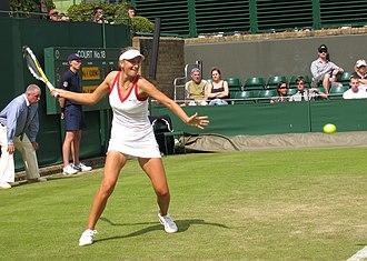 Victoria Azarenka - Azarenka at 2008 Wimbledon.