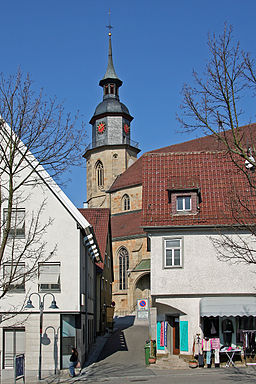 Vaihingen Stadtkirche Turm