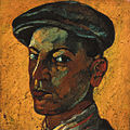 Vajda Self-portrait in a Cap 1925.jpg