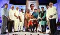 Vajhula Shivakumar Receiving Dasarathi Sahiti Puraskaram 2018.jpg