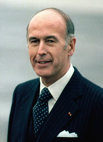 1981 French presidential election - Image: Valéry Giscard d'Estaing 1978(3)