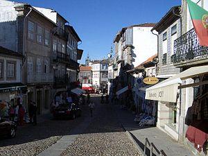 Valença, Portugal - Image: Valença Rua C Lopes da Silva