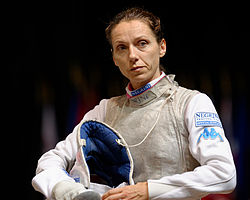 Valentina Vezzali 2014 European Championships FFS-EQ t115726.jpg