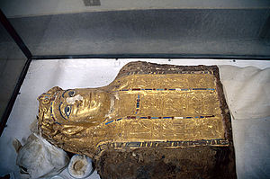 Valley of the Golden Mummies - Image: Valley Mummies Mummy 2