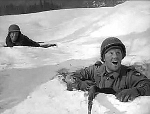 Van Johnson - Johnson continued to star in war dramas after the war ended, including Battleground (1949).