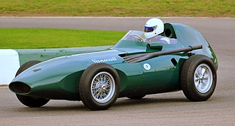 Tony Vandervell - 1958 Vanwall Formula One car