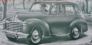 Vauxhall Velox - Image: Vauxhall Velox Saloon (LBP, 1949, Australia)