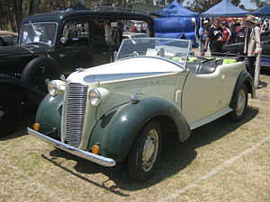 Vauxhall 10-4 - Australian produced Vauxhall Wyvern Caleche H Type