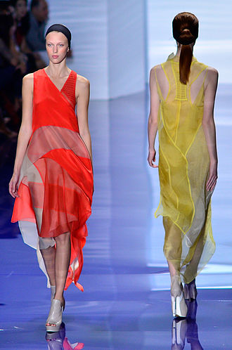 Vera Wang - Vera Wang Spring-Summer 2014 runway show at New York Fashion Week