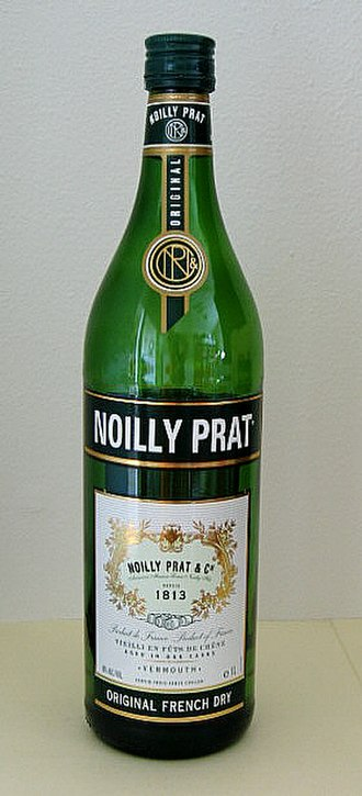Martini & Rossi - Noilly Prat is the company's French brand of vermouth.