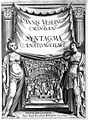 "Vesling ""Syntagma...""; 1647; engraved frontispiece Wellcome L0008122.jpg"
