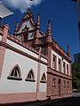 Veszprém 2016, volt Püspöki jószágkormányzóság, Iskola utcai oldal.jpg
