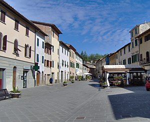Via Bettino Ricasoli Gaiole in Chianti 1.JPG