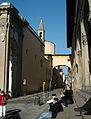 Via Gino Capponi des de la Piazza Santissima Annunziata de Florència.JPG