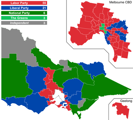 2018 Victorian State Election Wikipedia