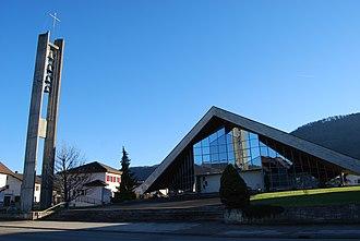 Vicques, Switzerland - Church in Vicques