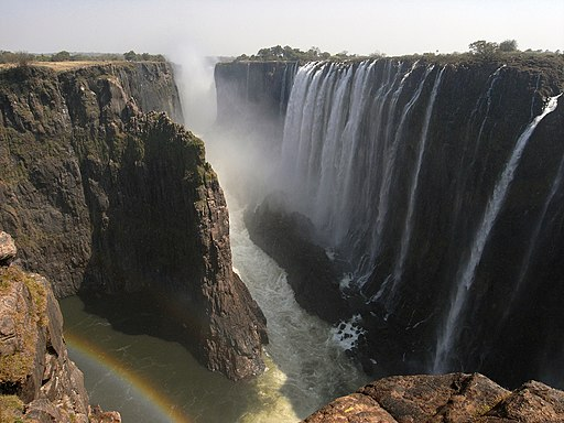 Victoria Falls from Zambia(August 2009)