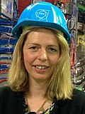 Victoria Martin, University of Edinburgh, at the CMS experiment at CERN.jpg