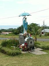 Quoi faire à l'île de la Réunion - voir la vierge au paradol dans la commune de Sainte-Rose