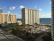 View from Hallandale Beach Apartments (Jan 2019)