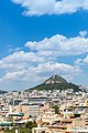 View of Lycabettus Hill in Athens, Greece (44148966324).jpg