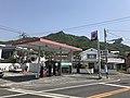 View of Mount Kurotakiyama from Koabashi Bridge.jpg