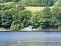 View of the hut, Damflask Reservoir, near Sheffield - geograph.org.uk - 1617389.jpg