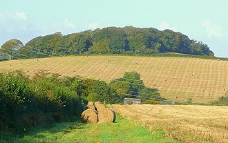 Civil parishes in Cornwall - Image: View to Milldown Wood geograph.org.uk 1006505