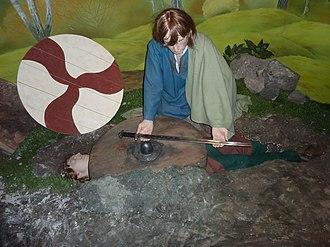 Dublinia - Viking burial scene, Dublinia