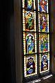 Viktring Stiftskirche Glasmalereien rechtes Fenster Apostel unterer Teil 07052011 335.jpg