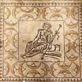 Villa Armira - Central Floor Mosaic in the National Historic Museum Sofia PD 2012 41.JPG