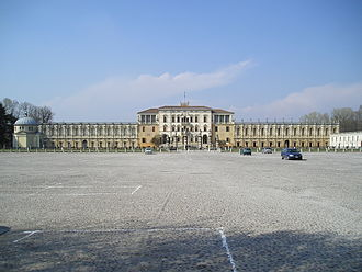 Contarini - The Villa Contarini, commissioned by Paolo and Francesco Contarini in 1546.