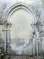 Villeneuve-sur-Verberie (60), église de Noël-Saint-Martin, croisillon nord, arcade vers le bas-côté disparu (extérieur).jpg