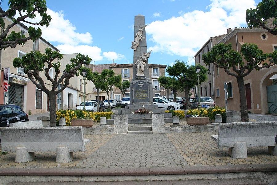 Villeveyrac (Hérault) - monument aux morts