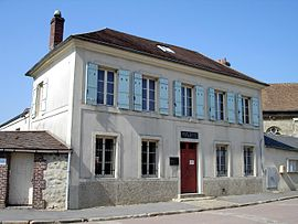 The town hall of Villiers-le-Sec