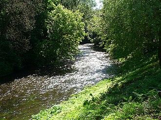 Vilnia River - Vilnia River in Vilnius