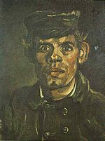 Vincent van Gogh Head of a Young Peasant in a Peaked Cap.jpg