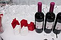 Vins rouges grecs avant dégustation.jpg
