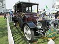 Vintage 1908 'Wolseley Landaulet' at 2014 Indian derby ..JPG